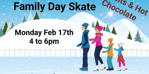 Annual Mitchell Skating Club Family Day Skate
